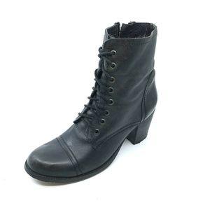 Steve Madden Graanie Block Heel Combat Boot Sz 9.5